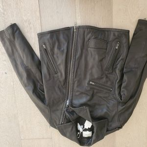 Vince Calf Leather Jacket Small NWT